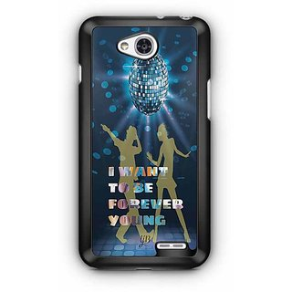 YuBingo I want to be Forever Young Designer Mobile Case Back Cover for LG L90