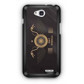 YuBingo Hot Wheels Designer Mobile Case Back Cover for LG L90