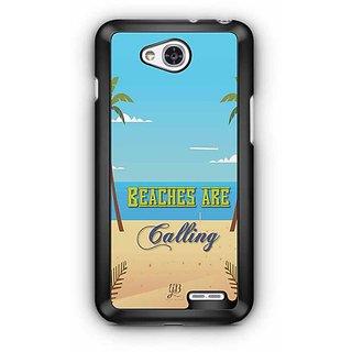 YuBingo Beaches are Calling Designer Mobile Case Back Cover for LG L90
