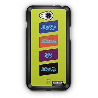 YuBingo Keep Kaam Se Kaam Designer Mobile Case Back Cover for LG L90