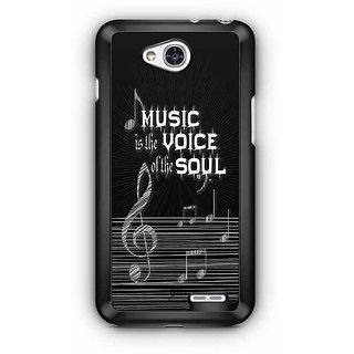 YuBingo Music is the Voice of your Soul Designer Mobile Case Back Cover for LG L90