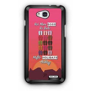 YuBingo Koi Mere Boss Ko Bolo, Mujhe Holiday Chahiye Designer Mobile Case Back Cover for LG L90
