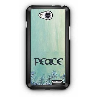 YuBingo Peace Designer Mobile Case Back Cover for LG L90