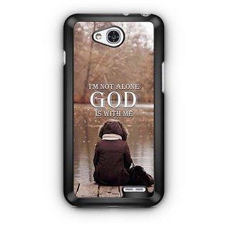 YuBingo God is with Me Designer Mobile Case Back Cover for LG L90