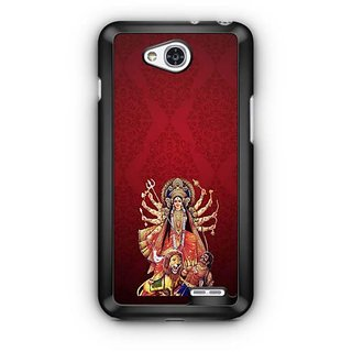 YuBingo Durga Maa Designer Mobile Case Back Cover for LG L90