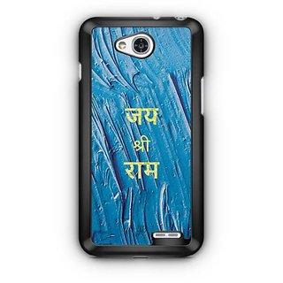 YuBingo Jai Shri Ram Designer Mobile Case Back Cover for LG L90
