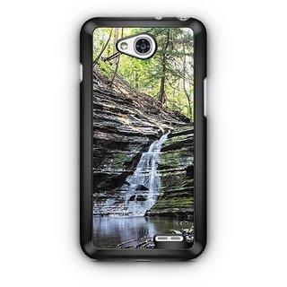 YuBingo Waterfall Designer Mobile Case Back Cover for LG L90
