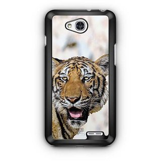 YuBingo Tiger with mouth open Designer Mobile Case Back Cover for LG L90