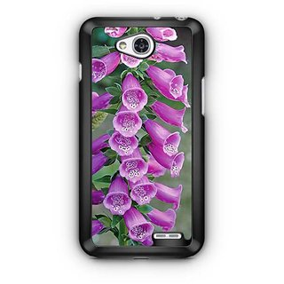 YuBingo Bunch of purple flowers Designer Mobile Case Back Cover for LG L90