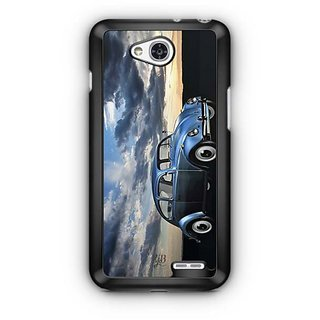 YuBingo Vintage Car in a beautiful place Designer Mobile Case Back Cover for LG L90