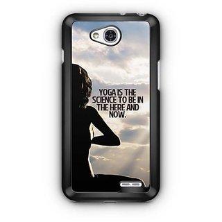 YuBingo Yoga is a science Designer Mobile Case Back Cover for LG L90