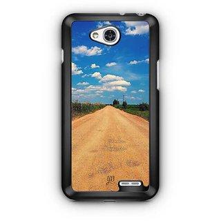 YuBingo Road to Horizon Designer Mobile Case Back Cover for LG L90