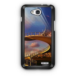YuBingo Stairs to Heaven Designer Mobile Case Back Cover for LG L90