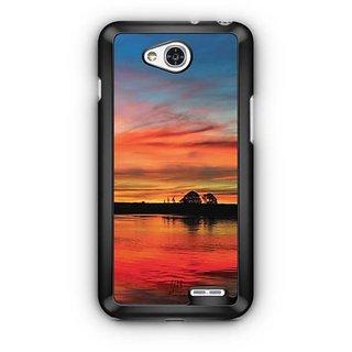 YuBingo Horizon  Designer Mobile Case Back Cover for LG L90