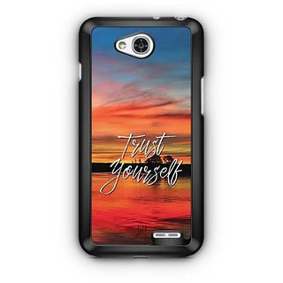 YuBingo Trust Yourself Designer Mobile Case Back Cover for LG L90