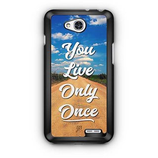 YuBingo You Live Only Once Designer Mobile Case Back Cover for LG L90