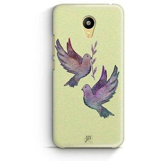 YuBingo Flying Birds Designer Mobile Case Back Cover for Meizu M3