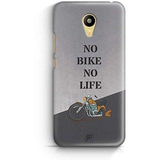 YuBingo No Bike No Life Designer Mobile Case Back Cover for Meizu M3