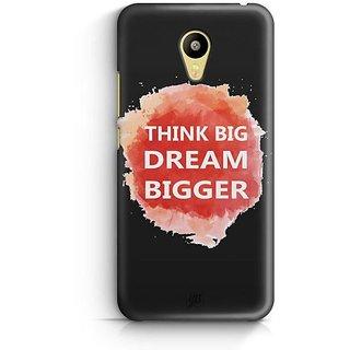 YuBingo Think Big Dream Bigger Designer Mobile Case Back Cover for Meizu M3