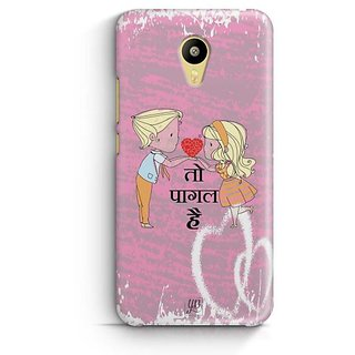 YuBingo Dil To Pagal Hai Designer Mobile Case Back Cover for Meizu M3