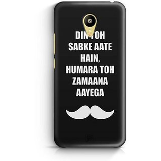 YuBingo Hamara Toh Zamana Aayega Designer Mobile Case Back Cover for Meizu M3