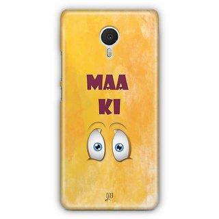 YuBingo Maa Ki Ankh Designer Mobile Case Back Cover for Meizu M3 Note