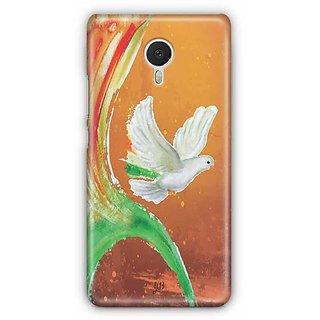 YuBingo Peace Dove Designer Mobile Case Back Cover for Meizu M3 Note