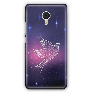 YuBingo Flying Starry Designer Mobile Case Back Cover for Meizu M3 Note