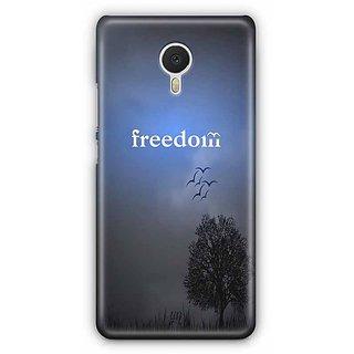 YuBingo Freedom   Designer Mobile Case Back Cover for Meizu M3 Note