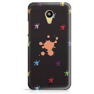 YuBingo Blotches Designer Mobile Case Back Cover for Meizu M3