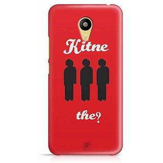 YuBingo Kitne Aadmi The? Designer Mobile Case Back Cover for Meizu M3