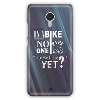 YuBingo Are we there yet? Designer Mobile Case Back Cover for Meizu M3 Note