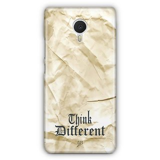 YuBingo Think Different Designer Mobile Case Back Cover for Meizu M3 Note