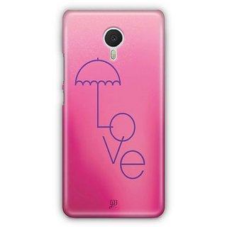 YuBingo Love Umbrella Designer Mobile Case Back Cover for Meizu M3 Note
