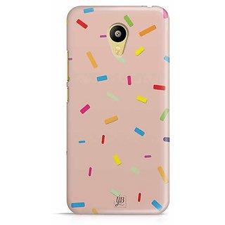 YuBingo Color Pellets Designer Mobile Case Back Cover for Meizu M3