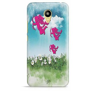 YuBingo Cupid Strikes Designer Mobile Case Back Cover for Meizu M3