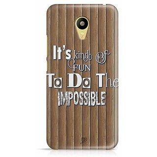 YuBingo Fun to do the Impossible Designer Mobile Case Back Cover for Meizu M3