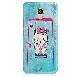 YuBingo Hello cat Designer Mobile Case Back Cover for Meizu M3