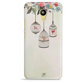 YuBingo Birds in Cage Designer Mobile Case Back Cover for Meizu M3