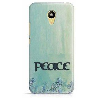 YuBingo Peace Designer Mobile Case Back Cover for Meizu M3