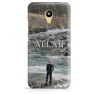 YuBingo Allah is with Me Designer Mobile Case Back Cover for Meizu M3