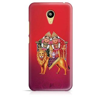YuBingo Chamunda Devi Designer Mobile Case Back Cover for Meizu M3
