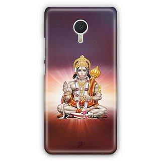 YuBingo Hanuman Ji Designer Mobile Case Back Cover for Meizu M3 Note