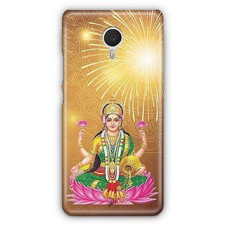 YuBingo Laxmi Mata Designer Mobile Case Back Cover for Meizu M3 Note
