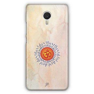 YuBingo Om Designer Mobile Case Back Cover for Meizu M3 Note