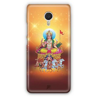 YuBingo Surya Dev Designer Mobile Case Back Cover for Meizu M3 Note