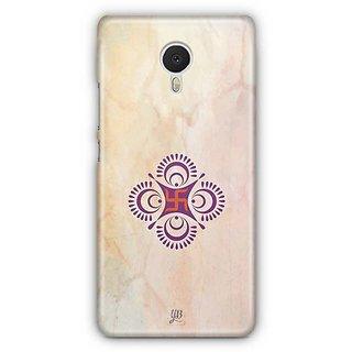 YuBingo Swastik Designer Mobile Case Back Cover for Meizu M3 Note