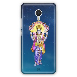 YuBingo Vishnu Bhagwan Designer Mobile Case Back Cover for Meizu M3 Note