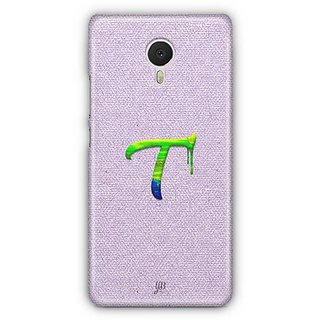 YuBingo Monogram with Beautifully Written Paint Finish letter T Designer Mobile Case Back Cover for Meizu M3 Note