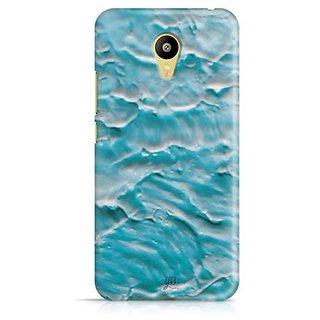 YuBingo Blue Water Colour Designer Mobile Case Back Cover for Meizu M3